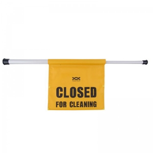"Hanging ""Closed For Cleaning"" Sign"
