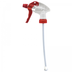 Replacement head for 600 / 750ml Trigger sprayer Red