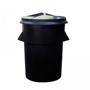 Black dustbin tuff - large 94lt, bin only