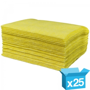 Lavette hygiene HD cloths Yellow