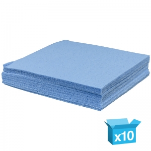 Blue sponge cloths