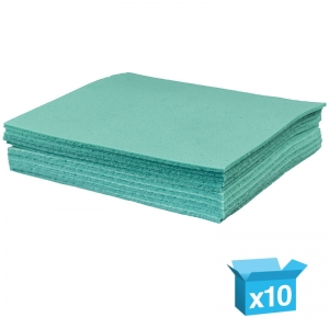Green sponge cloths