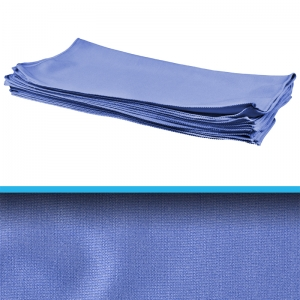 Large Microfibre Glass cloth 80x62cm Blue