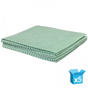 Medium-weight cloth 38x40cm green