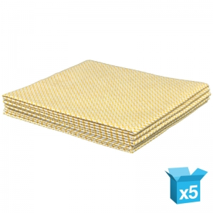 Medium-weight cloth 38x40cm yellow