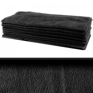 Professional quality microfibre cloth 40x40cm - black