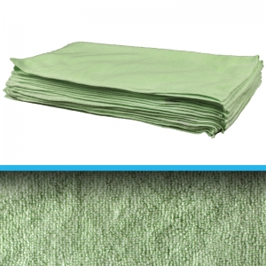 Professional quality microfibre cloth 40x40cm - green