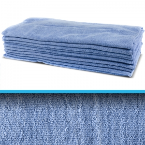 Professional quality microfibre cloth 60x40cm Blue
