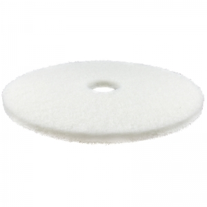 "FloorPro 17"" super polishing pad - white"