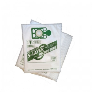 Microfibre white Vac bags for Truvox, Generic 32mm machines