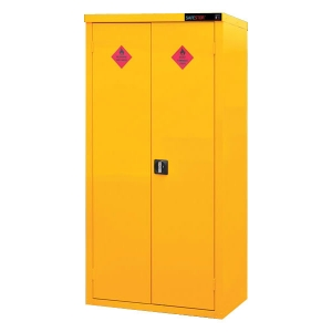 Safestor HFC7 hazardous chemical storage cabinet 1.8m tall