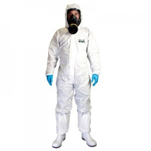 Laminated coverall category 3 type 5 & 6 size Extra Extra Large