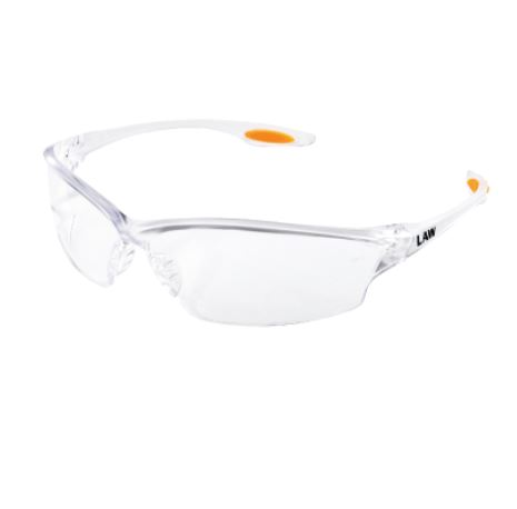 Clear Wraparound Safety glasses