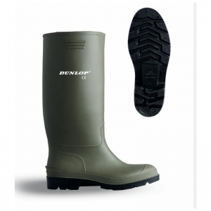 Green Non-Safety Wellington Boot