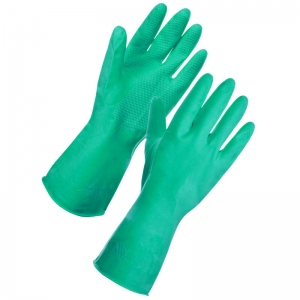 Green premium household gloves Extra Large