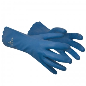 Latex free cleaning glove Blue Small