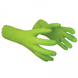 Latex free cleaning glove Green Large