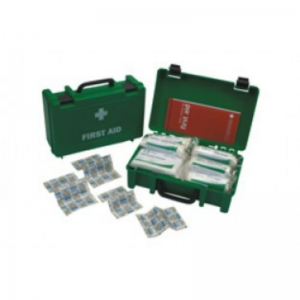 10 person first aid kit - with handle