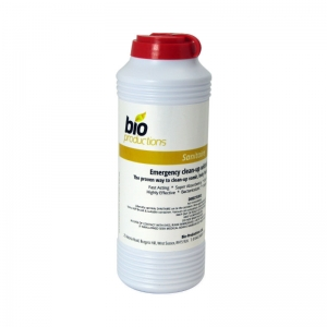 Body fluid / vomit absorbent granule - shaker drum