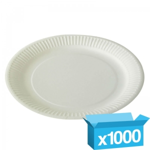 "9"" paper plates - pack"