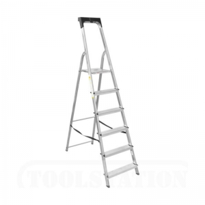 Aluminium 6-step ladder