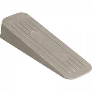 Door Wedges - Grey Rubber