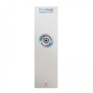 Purehold Push - Antimicrobial push plate replacement cover